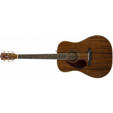 FENDER PM-1 DREADNOUGHT ALL MAHOGANY LH, NATURAL