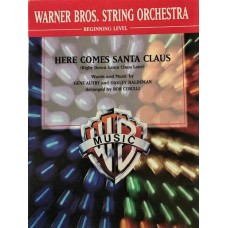 Here Comes Santa Claus. Words and music by Gene Autry, Oaklley Haldman. Arr by Bob Cerulli