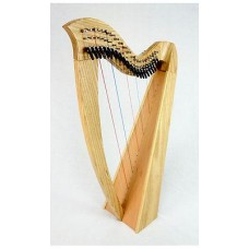 EMS Heritage 22 String Student Lever Harp in Ash