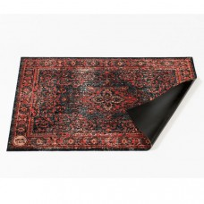 DRUMnBASE Persian Stage Mat Black & Red. 130 X 90 cm