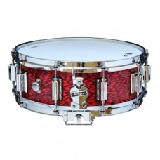 Rogers Dynasonic. Snaredrum 14x5 Wood shell snare. Beavertail lug. Red Onyx