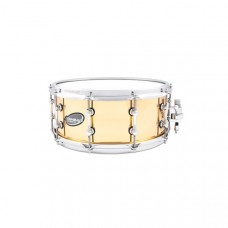 """Ahead. Snaredrum 14X6"""". Polished Cast Bell Brass"""
