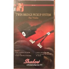 Shadows Twin Brigde Pickup System for Violin. SH941