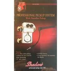 Shadows Professional Pickup System With Nanoflex Pickup. SH-945 NFX