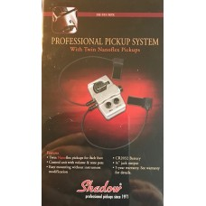 Shadows Professional Pickup System With Nanoflex Pickup. SH-955 NFX