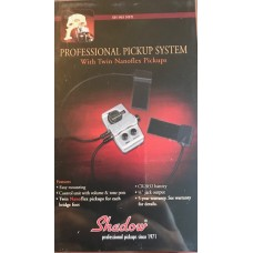 Shadows Professional Pickup System With Nanoflex Pickup. SH-965 NFX . Double Bass